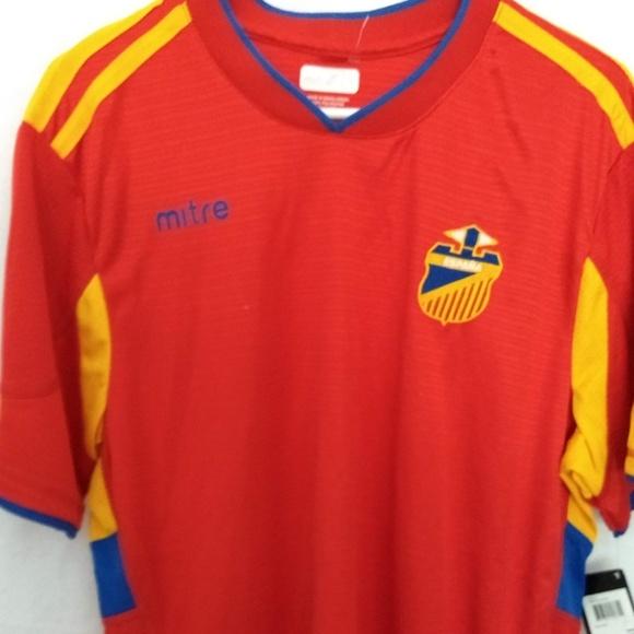 new style c40c1 2baab Men soccer jersey L shirt Spain National team NWT NWT